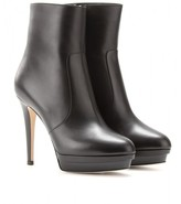 Jimmy Choo Trait leather platform ankle boots