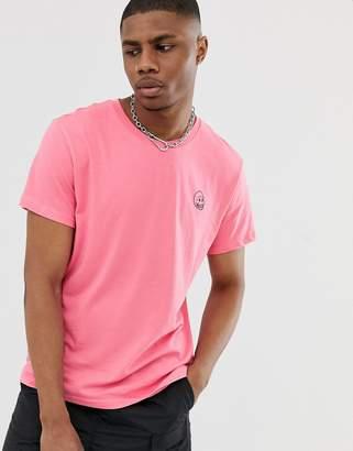 Cheap Monday tiny skull t-shirt-Pink
