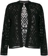 M Missoni lace detail cardigan