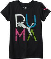 Puma Girls 7-16 Logo Graphic Tee
