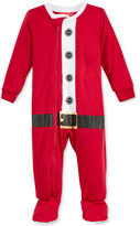 Family Pajamas Baby Boys' or Baby Girls' Santa Suit Footed Pajamas, Only at Macy's