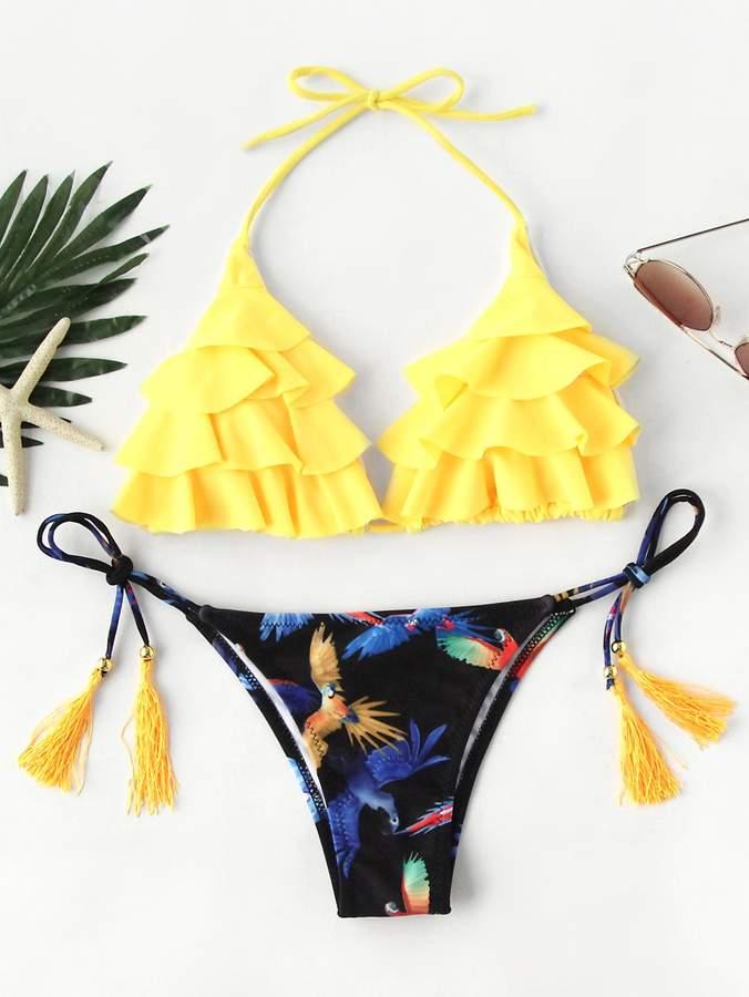 c8477753b4 Tassel Side Bikini - ShopStyle
