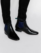 Ted Baker Hourb Chelsea Boots - Black