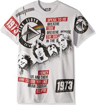 Liquid Blue Unisex-Adult's Pink Floyd Dark Side 1973 Short Sleeve T-Shirt