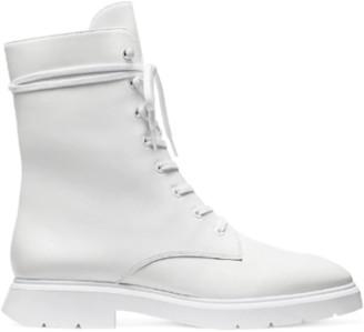 Stuart Weitzman McKenzee Boot - White Leather
