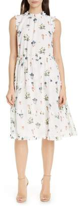 Ted Baker Flutta Oracle Tiered Floral Dress