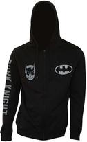 Bioworld Black Batman 'Dark Knight' Zip-Up Hoodie - Men's Regular