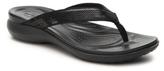 Crocs Capri V Sequin Flip Flop