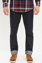 Forever 21 FOREVER 21+ Clean Wash - Cuffed Slim Fit Jeans