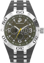 JCPenney WRIST ARMOR Wrist Armor C23 Mens US Marine Corps Rubber Strap Chronograph Watch