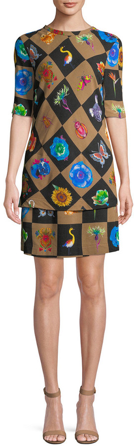 Jacquemus Geometric Sheath Dress