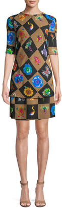 Jacquemus Geometric Sheath Dress