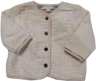Burberry Pink Cotton Jackets & Coats