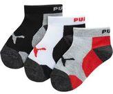 Puma Boys' Low Cut Socks (3 Pack)