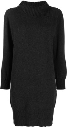 Fabiana Filippi High-Neck Knit Dress