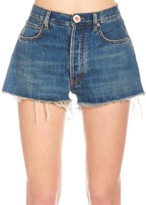 Alanui Crochet Pockets Mini Shorts