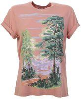 Stella McCartney Pink Cotton Landscape T-shirt