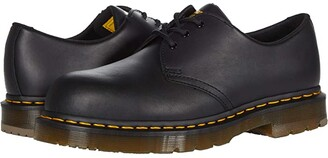 Dr. Martens Work 1461 Slip Resistant Steel Toe (Black Industrial) Shoes