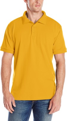 Classroom Men's Adult Unisex Short Sleeve Interlock Polo