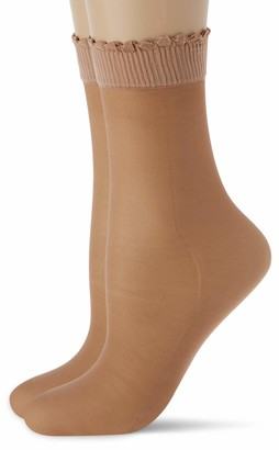 Levante Women's Ritz 20 Calzino 2 Paia 100% Made in Italy Casual Socks