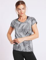 Marks and Spencer Printed Double Layer Top