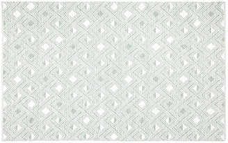 One Kings Lane Jude Kids' Rug - Sage/Ivory - 8'x10'