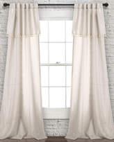 Triangle Home Fashion Ivy Tassel Window Curtain Panels