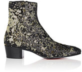 Christian Louboutin Men's Huston Paillette-Embellished Boots