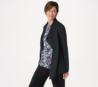 Cuddl Duds Ultra Soft Comfort Drape Front Wrap Cardigan