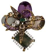 Iradj Moini Multi-Gem Brooch