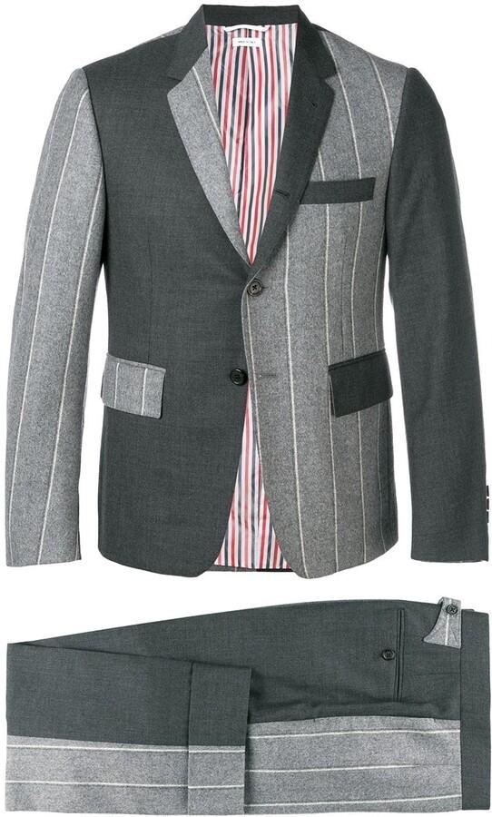 Thom Browne Fun Mix Shadow Stripe Suit
