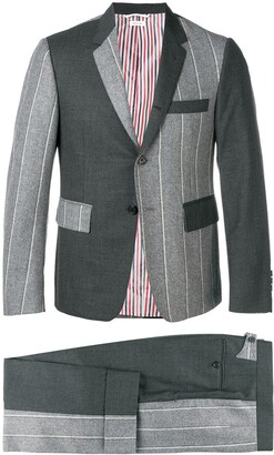 Thom Browne Fun Mix Shadow Stripe Suit