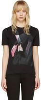 Givenchy - T-shirt noir Flamingo