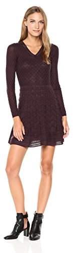 M Missoni Women's Vneck Solid Knit Dress