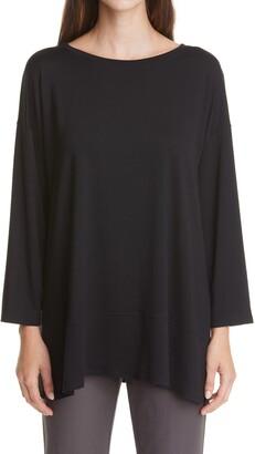 Eileen Fisher Ballet Neck Jersey Tunic