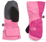 The North Face Toddler Girl's Insulated Waterproof Mittens