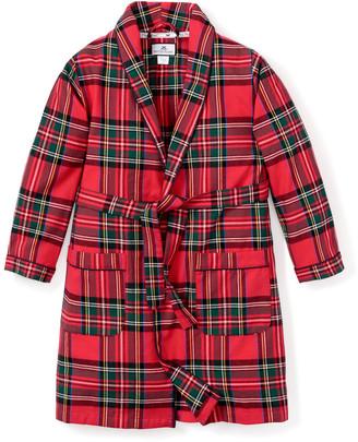 Petite Plume Kid's Imperial Tartan Robe, Size 1-14