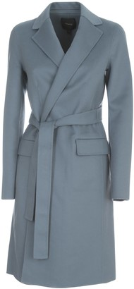Theory Belt Luce Coat