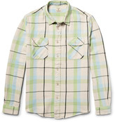 Levi's Shorthorn Slim-Fit Checked Cotton-Flannel Shirt