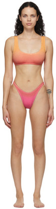 BOUND by Bond-Eye Pink and Orange The Malibu Bikini