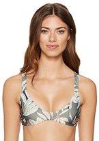 MinkPink Women's Shady Fronds Bikini Top