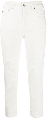 Dondup Slim Cropped Trousers