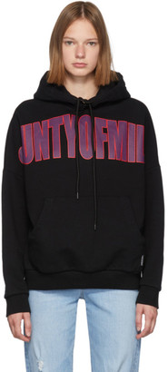 Marcelo Burlon County of Milan Black Over Hoodie