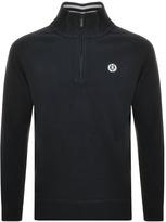 Henri Lloyd Rednor Half Zip Sweatshirt Navy