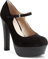 G by Guess Women's Shoes, Varika Platform Mary Jane Pumps
