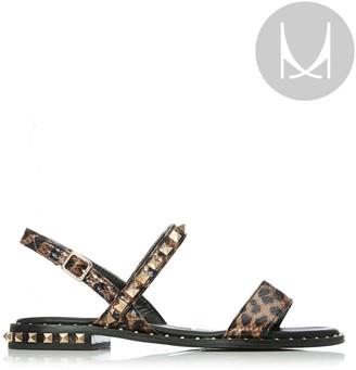 M By Moda Nadina Black - Leopard Porvair