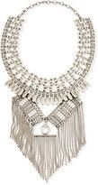 Ralph Lauren Geometric Chain Fringe Necklace