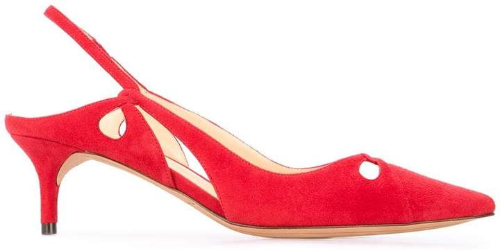 Alexandre Birman pointed sling-back pumps