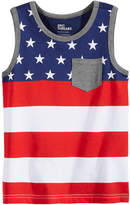 Epic Threads Red, White & Blue Graphic-Print Tank Top, Little Boys, Created for Macy's