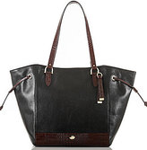 Brahmin Southcoast Tuscan Coast Collection Cheyenne Drawstring Tote